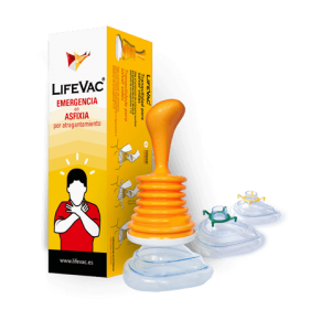 Dispositivo anti atragantamiento LIFEVAC